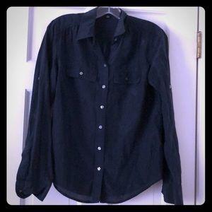 Ann Taylor 'camp shirt' button down